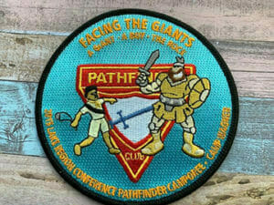 embroidereed pathfinder company patches