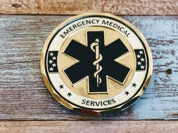 ems custom coin