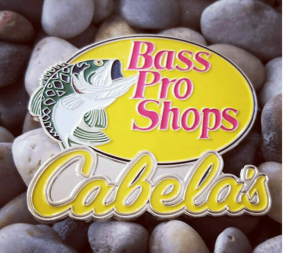 soft enamel bass pro shop pin