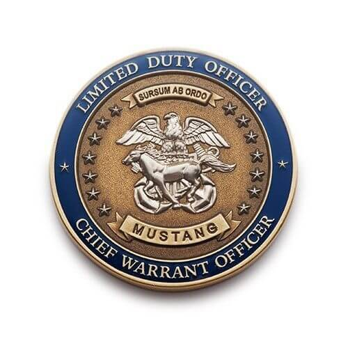 duty officer coin
