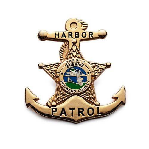 custom police pin