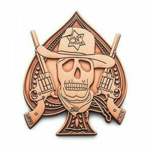 sheriff lapel pins