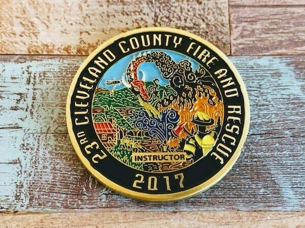 fire rescue coin
