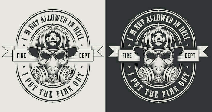 custom firefighter patch