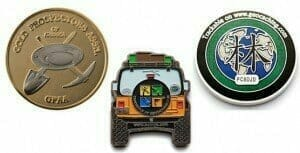 custom geocaching coins