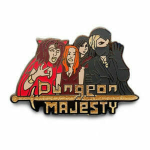 dungeon majesty pins