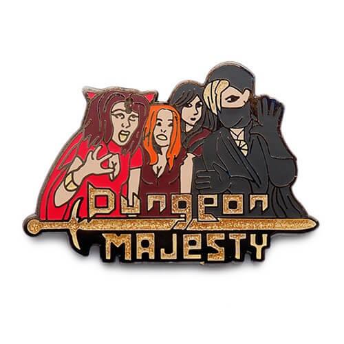 dungeon majesty pins