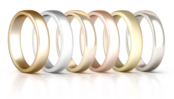 gold ring colors