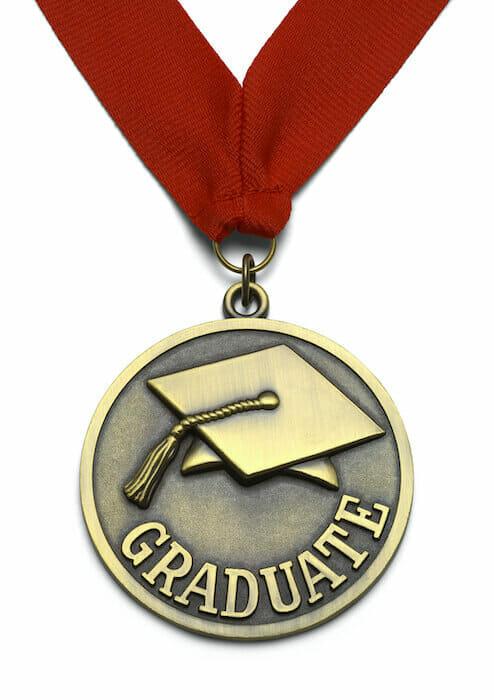 graduation medallion