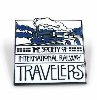 custom railroad company lapel pin