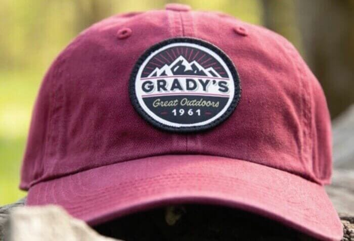 richardson hat with patch