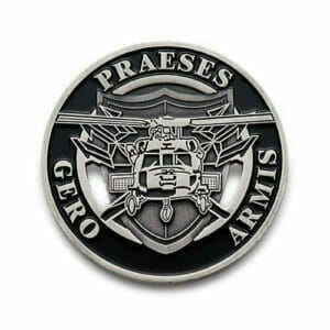 military helicopter coin