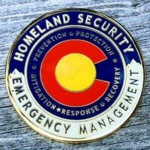 custom homeland security coin