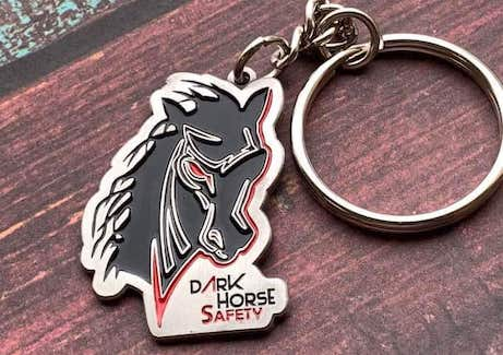 horse shaped keychain