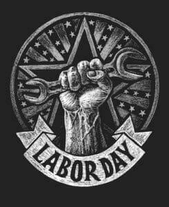 labor day lapel pins