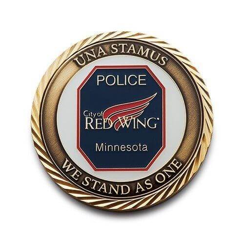 Custom Made Police Coins