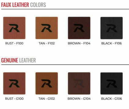 leather patch colors