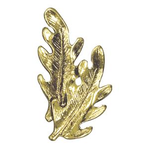 leaves lapel pin