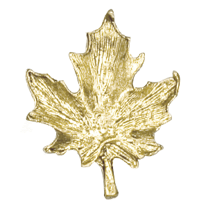 maple leaf lapel pin