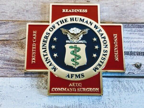 custom medic coin
