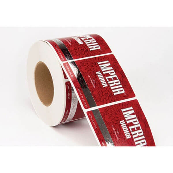 metal roll labels