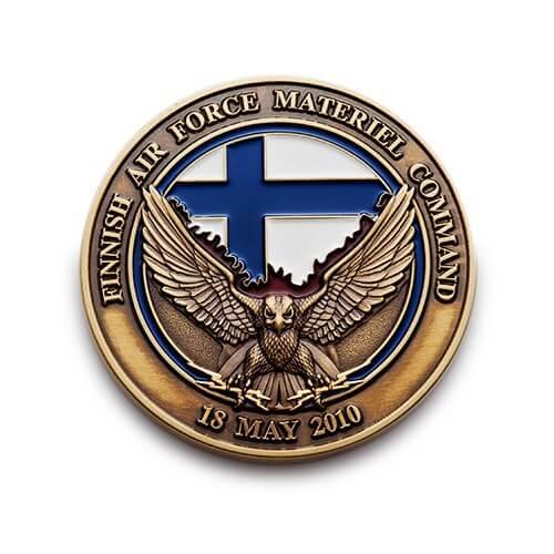 air-force coin custom