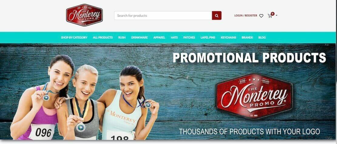monterey promo site