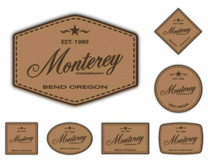 stock leather patches