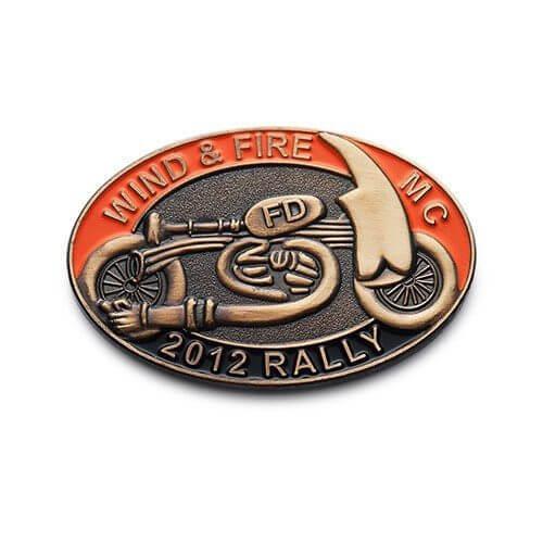 motorcycle custom lapel pins