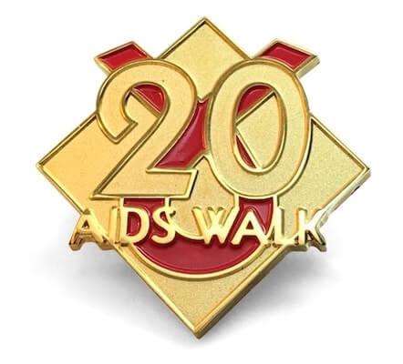 aid walk pin