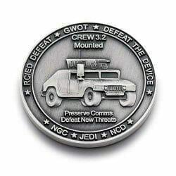 military humvee coin