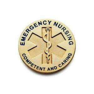 custom ER nurse pins