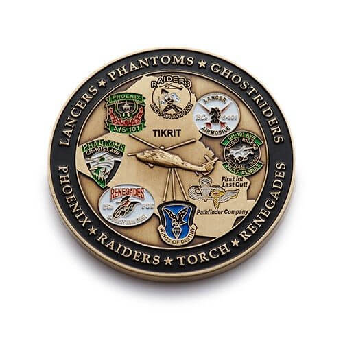 custom air force coin