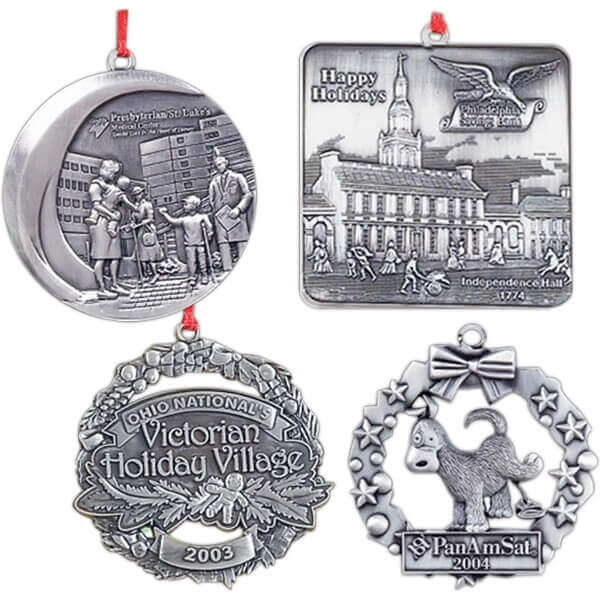 pewter company ornaments