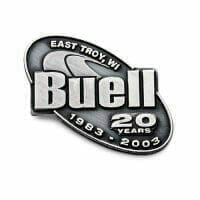 buell pewter pin