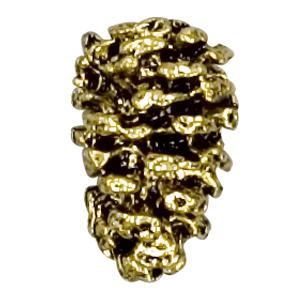 pine cone lapel pin