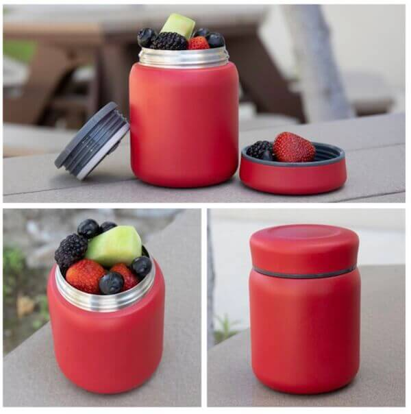 printed food container