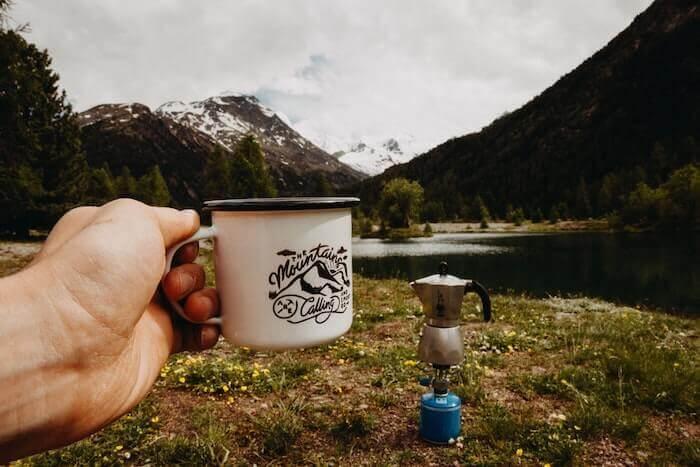 design a mug guide logo