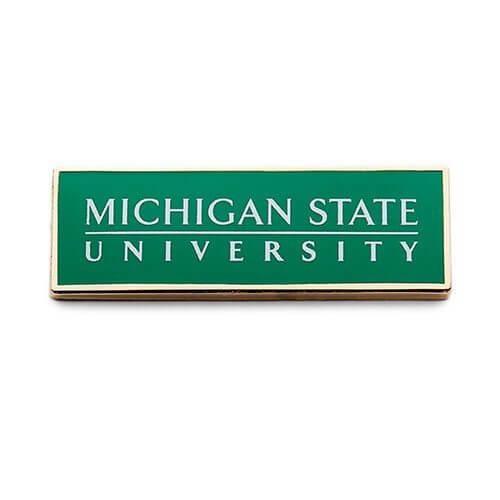 michigan state university lapel Pin
