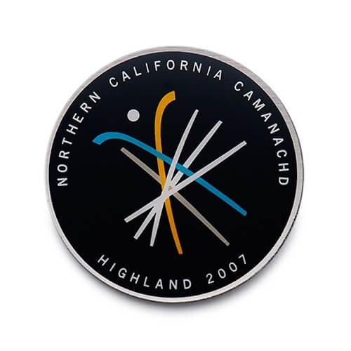 custom printed pin