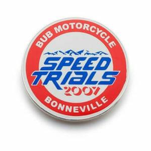 custom motorcycle speed-trial-pins