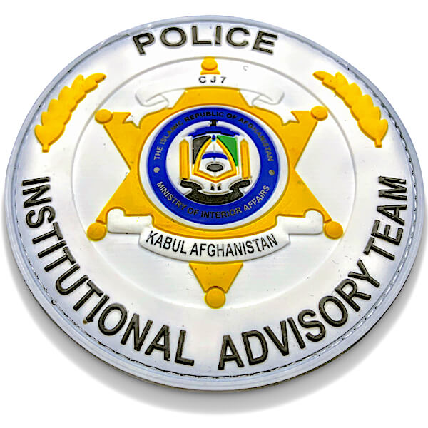 Customized police patch