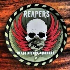 reapers military patch
