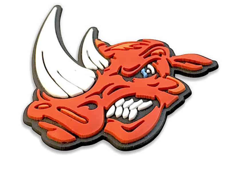pvc rhino design