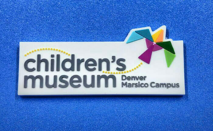 childrens museum rubberized magnet