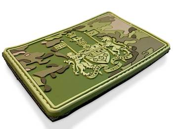 pvc tactical camo patches