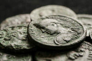 really old coins