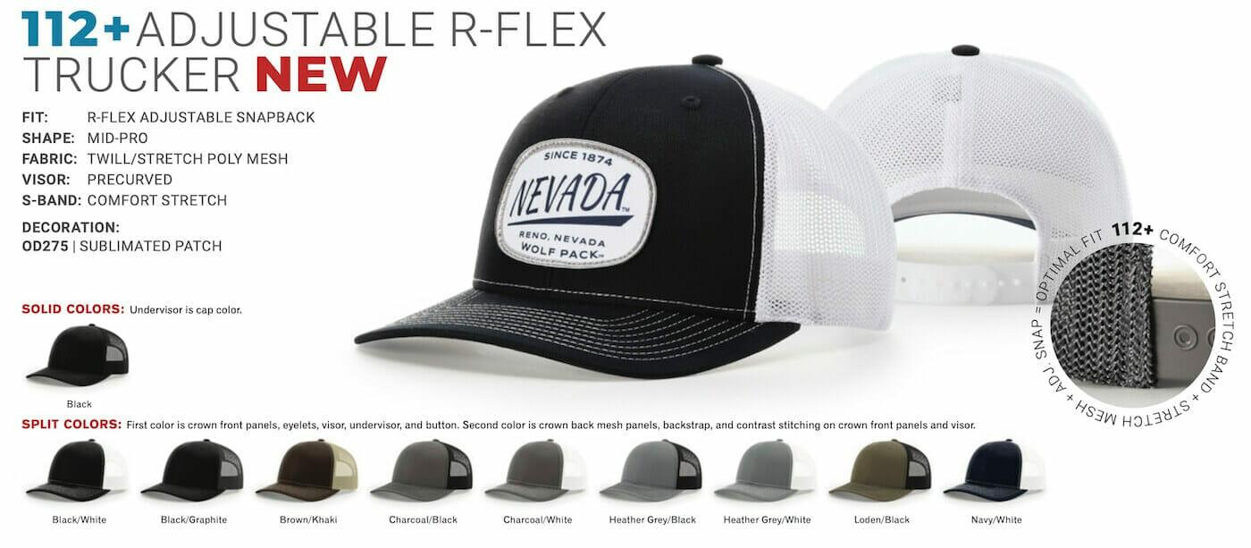 richardson 112 adjutable R-Flex with logo
