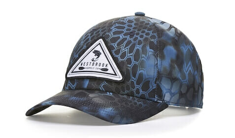 870 camo hat with patch