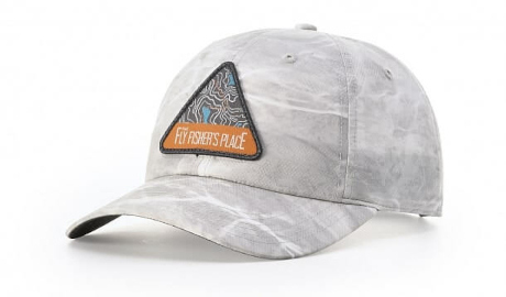 camo hat with patch